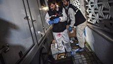 Криминалисты собирают доказательства в посольстве Саудовской Арвии в Турции. Архивное фото
