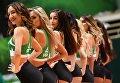 Группа поддержки на матче Кубка Европы между БК УНИКС (Россия, Казань) и БК Торино (Италия, Турин)