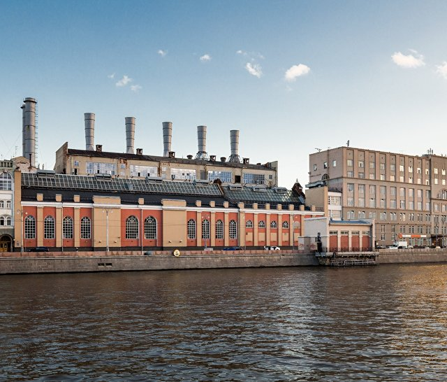 ГЭС-1 им. П.Г. Смидовича, фасад