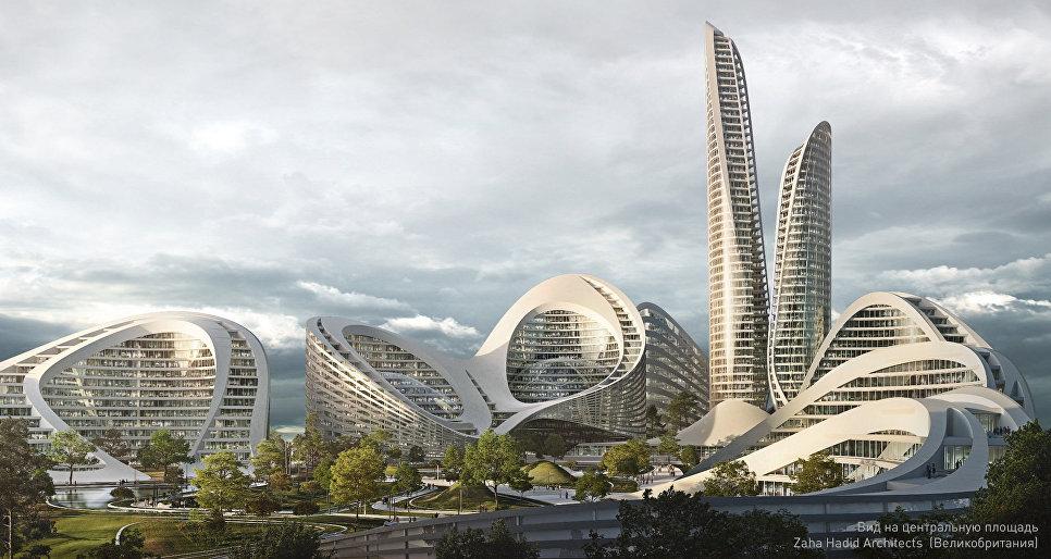 Проект умного города в Рублево-Архангельском от Zaha Hadid Architects