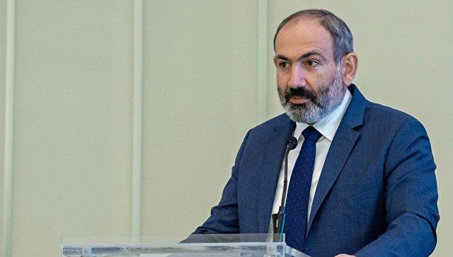 Исполняющий обязанности премьер-министра Армении Никол Пашинян. Архивное фото.