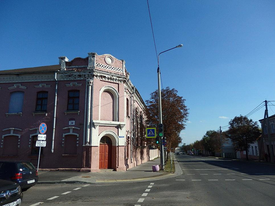 Бывшая синагога.