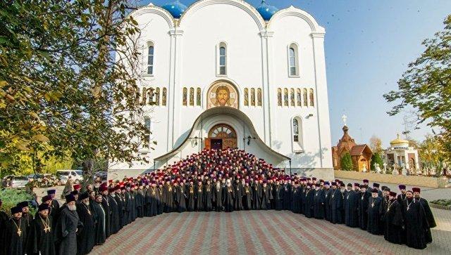 Собрание духовенства Одесской епархии Украинской православной церкви в Свято-Успенском Одесском мужском монастыре. 22 октября 2018