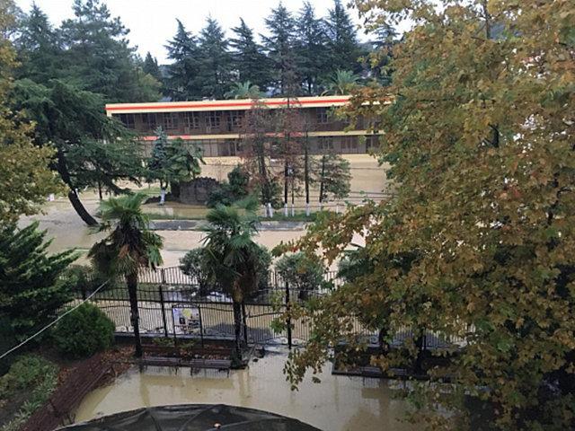Наводнение в Сочи. Архивное фото