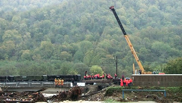 РЖД отменили десятки поездов после подтопления на Кубани