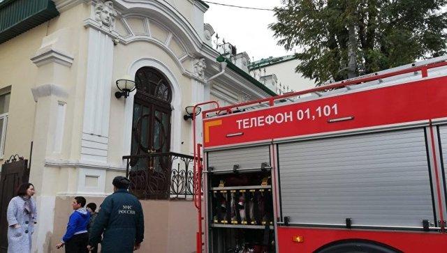 В Ростове-на-Дону произошел пожар на территории роддома