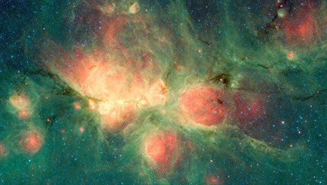"""NASA показало """"Кошачью лапу""""  в созвездии Скорпион"""
