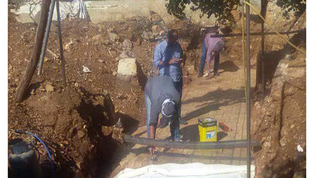 В Сирии мужчина нашел у себя в саду мозаику возрастом более 1,5 тысячи лет