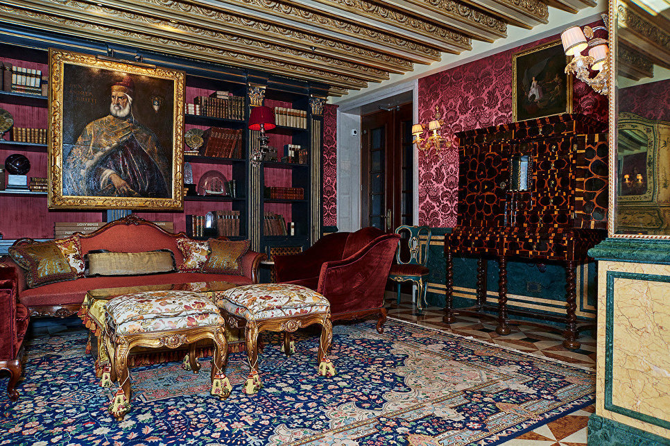 Интерьер отеля Гритти Палас, Венеция