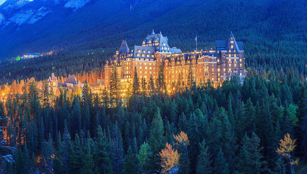 Отель Fairmont Banff Springs Hotel в Канаде