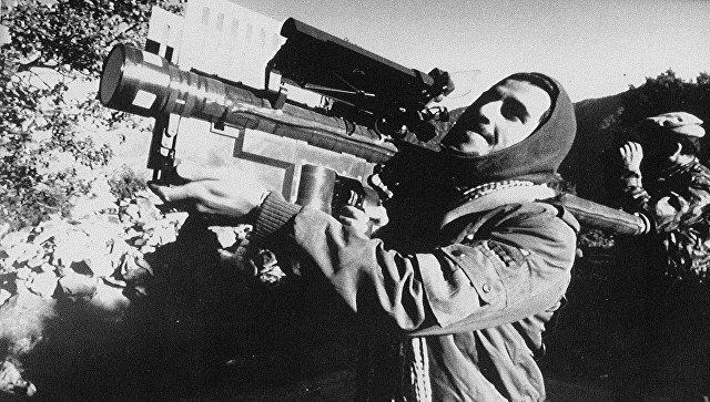 Афганский боевик c ПЗРК Стингер