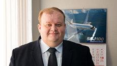 Главный конструктор самолета CR929 Максим Литвинов