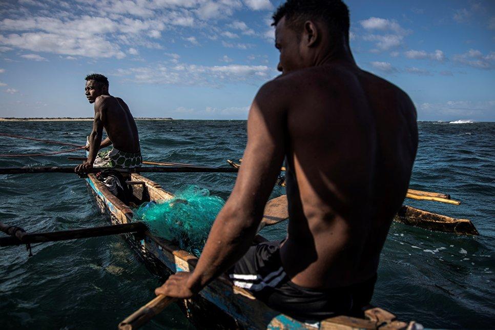Малагасийские рыбаки