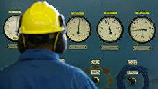 На территории нефтегазовой компании PGNiG, Польша