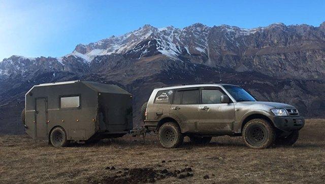 Встреча Нового года в горах Северной Осетии