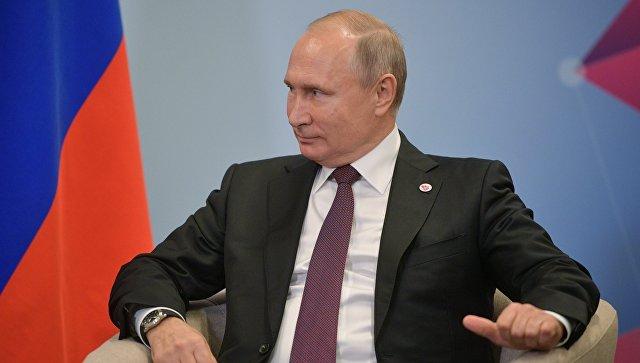 Российская экономика адаптируется к сложностям, заявил Путин