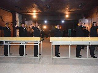 Участники соревнований Командирские старты. Архивное фото