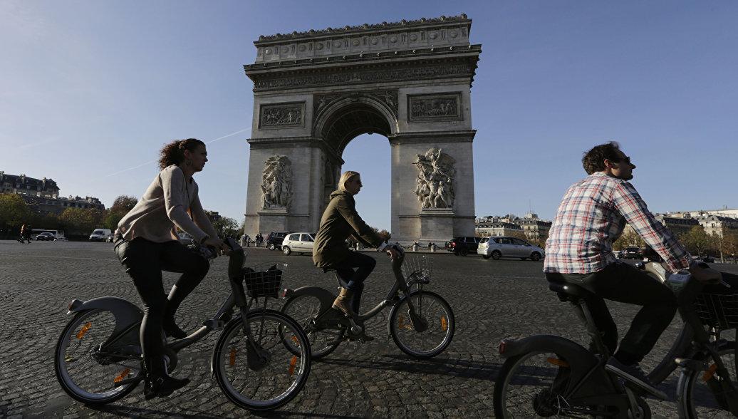 Центр Парижа может стать полностью пешеходным