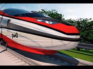 Концепт высокоскоростного поезда для России. Архивное фото