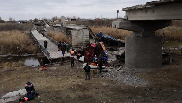 СК возбудил уголовное дело после обрушения моста под Воронежем