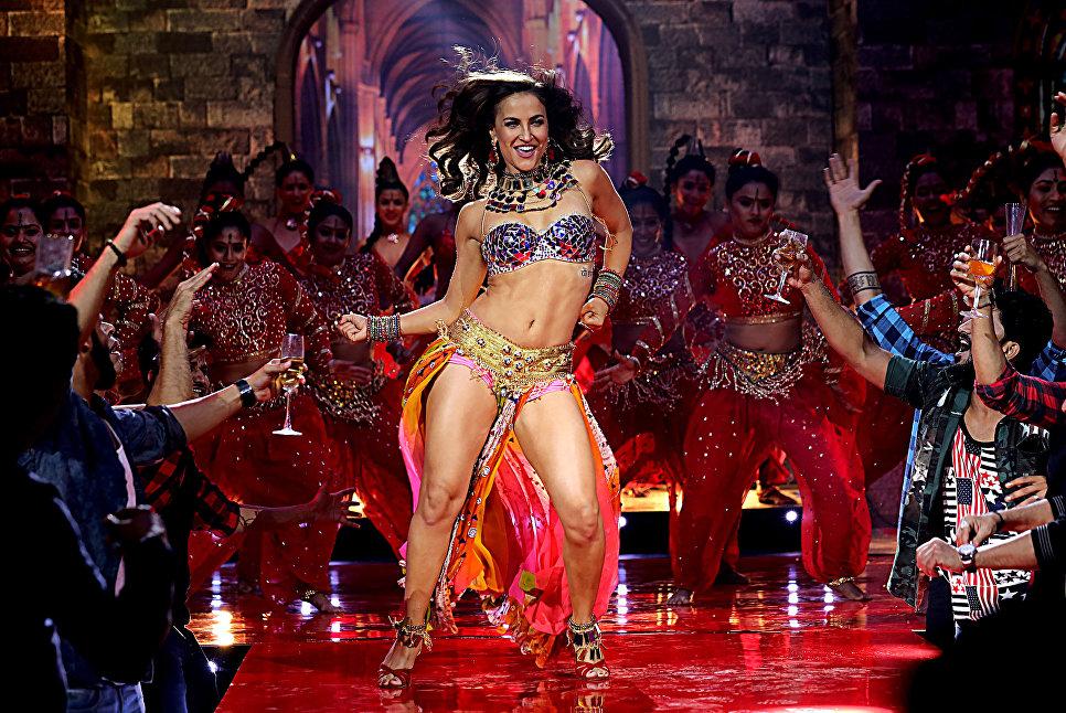 Индийская актриса Болливуда Элли Аврам. 20 ноября 2018 года