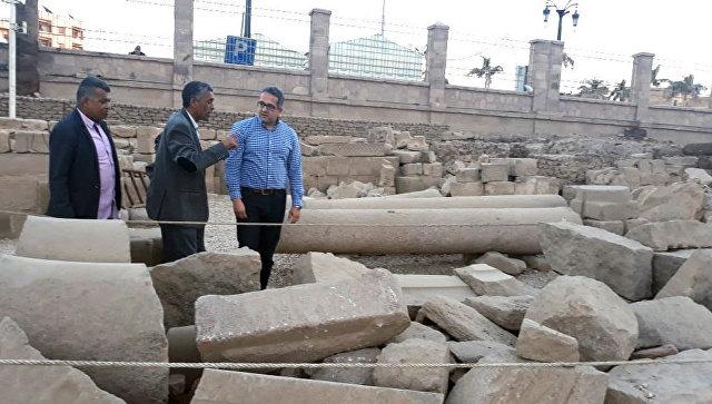 В Египте нашли гробницу служителя храма Амона
