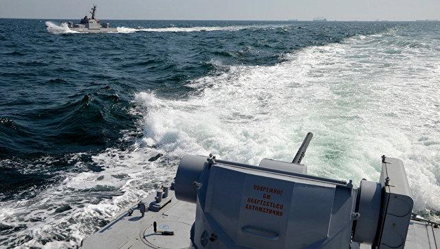 Украинские военно-морские корабли. Архивное фото