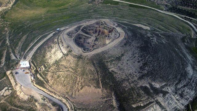 Крепость Иродиона. Архивное фото