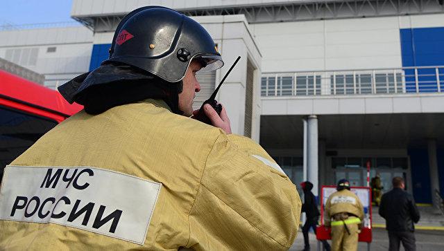 В Хабаровском крае произошел пожар на заводе взрывчатых веществ