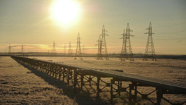 Вввод в эксплуатацию газового месторождения Бованенково в ЯНАО. Архивное фото