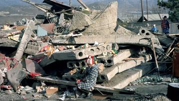 Землетрясение в Спитаке. Архив