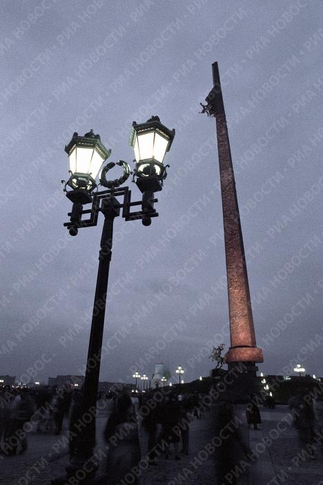 Памятник Победы скульптора Зураба Церетели на Поклонной горе