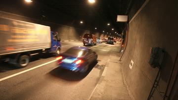 В Лефортовском тоннеле. Архивное фото