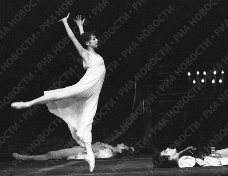 Максимова в балете «Повесть о Ромео и Джульетте»