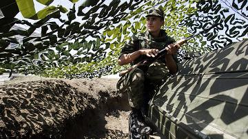 Оперативно-тактические учения Северо-Кавказского военного округа Кавказ. Архивное фото