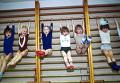 В детской спортивной секции