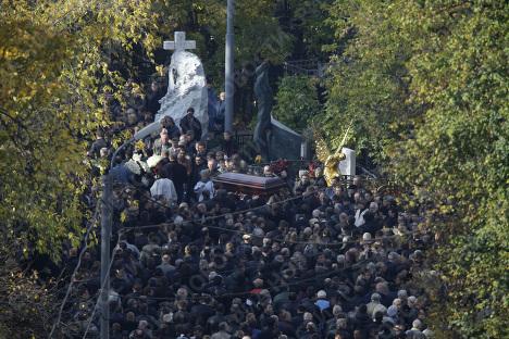 В Москве проходят похороны Вячеслава Иванькова (Япончика)