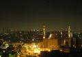 Вид на Исламский Каир ночью