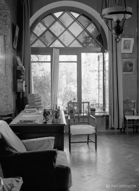 Кабинет писателя А. П. Чехова