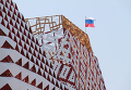 Строительство российского павильона на Всемирной универсальной выставке ЭКСПО-2010 в Шанхае