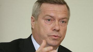 Губернатор Ростовской области Василий Голубев, архивное фото