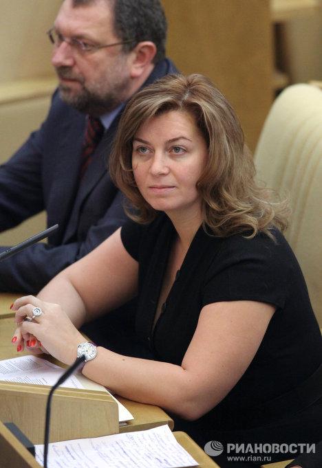 Первый заместитель главы комитета Госдумы РФ по делам семьи, женщин и детей Наталья Карпович