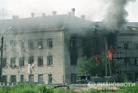 Пожар в Буденновске
