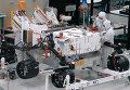 Марсоход Curiosity и его новые колеса