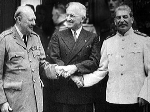 """who is to blame for the cold war truman stalin churchill Soviet prime minister josef stalin, president harry s truman blame for the cold war"""" students evaluate these events in blame for starting the cold war."""