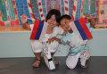 В российском павильоне на Всемирной универсальной выставке в Шанхае отметили День Государственного флага России
