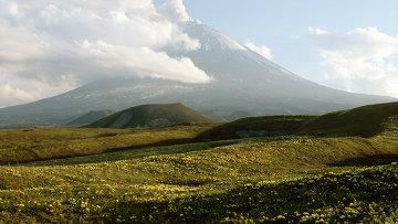 Вулкан Ключевская сопка. Архивное фото