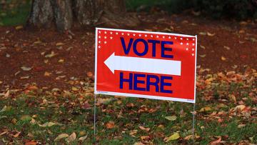 Промежуточные выборы в конгресс США. Архивное фото