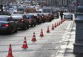 На Тверской улице в Москве запрещена парковка