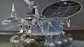 Первый лунный самоходный аппарат Луноход-1